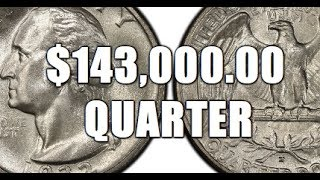 Quarter Sells For 143 000 00 Why Extremely Rare Washington Quarter
