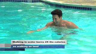 BURN 2x as many calories in water then on land
