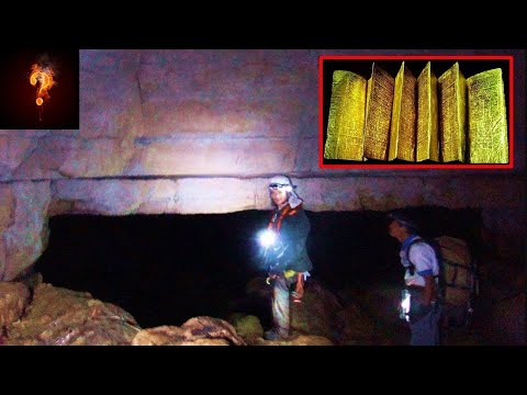 Golden Library Found In Caves Built By Giants?