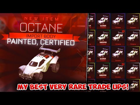 This is my best very rare trade up session in the history of Rocket League... thumbnail