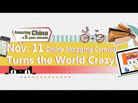 Nov.11- Online Shopping Carnival turns the world crazy!