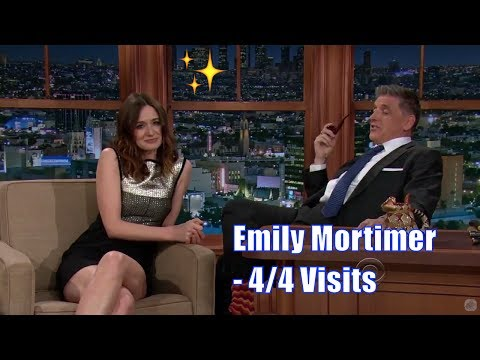 Emily Mortimer  Has Practiced Funny Stories To Tell  44 Visits In Chronological Order 7201080p