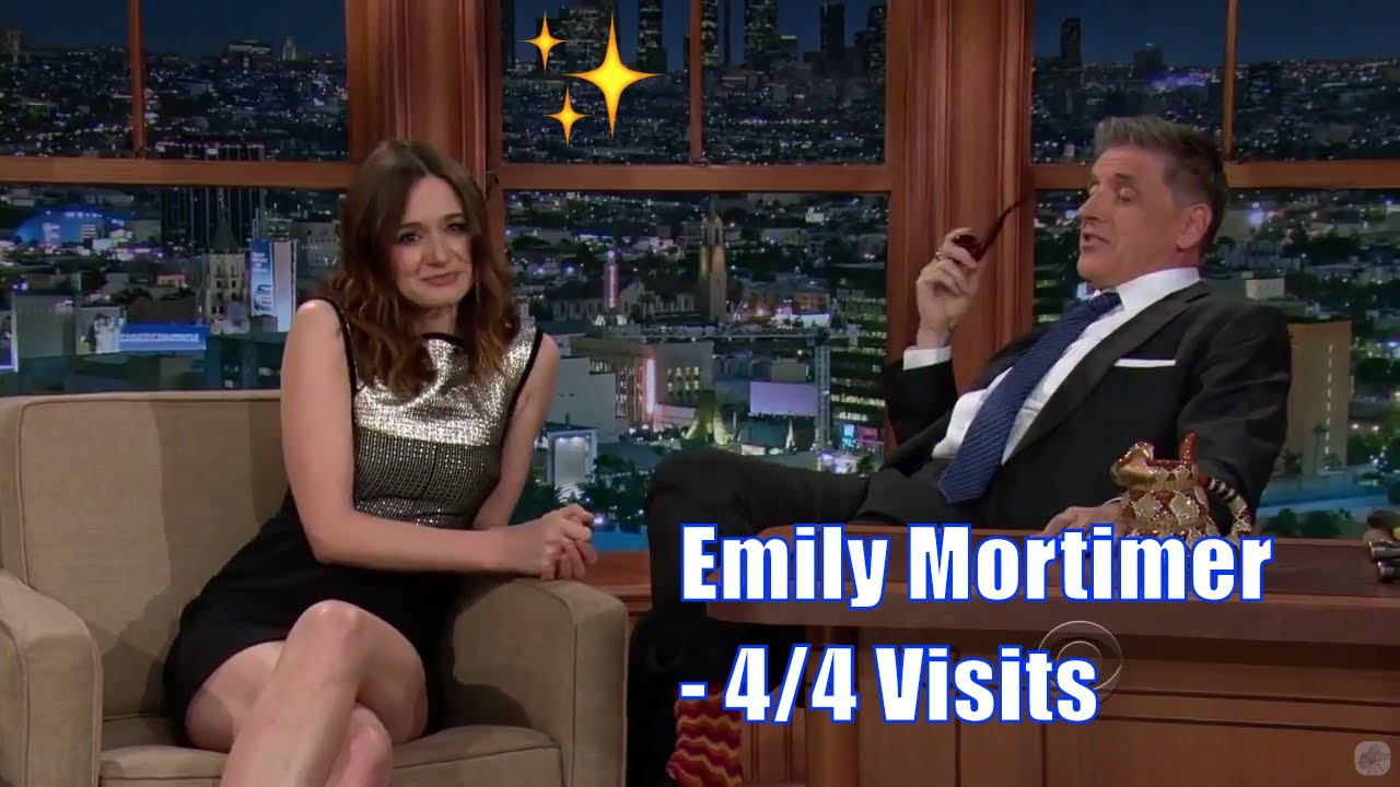 Emily Mortimer - Has Practiced Funny Stories To Tell - 4/4 Visits In Chronological Order [720-1080p]