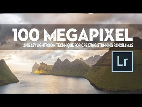 HOW TO make a STUNNING PANORAMA with JUST LIGHTROOM