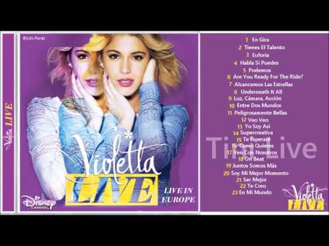 CD Violetta Live - En Mi Mundo