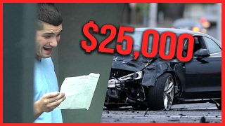 $25,000 CAR CRASH PRANK ft. RackaRacka