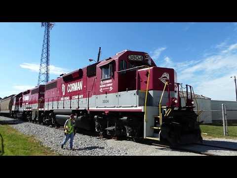RJ Corman train chasing to the concrete plant and JIF Thursday October 5 Lexington KY