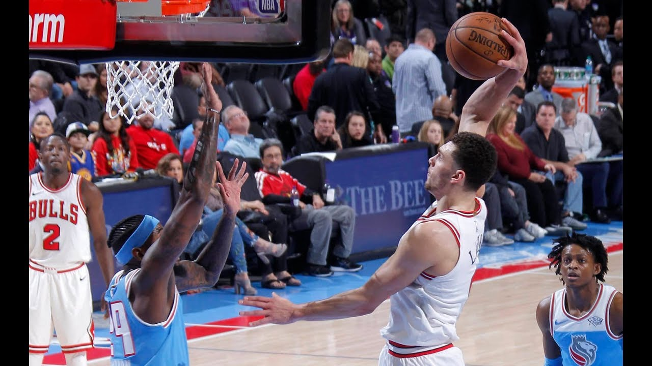 Best Plays From Monday Night's NBA Action! | Zach LaVin ...