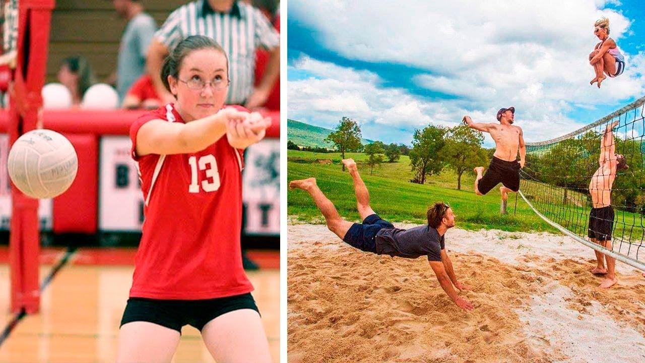 Картинки прикольные о волейболе