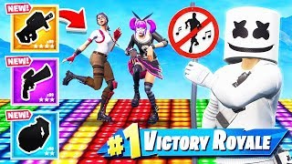 REACTIVE Marshmello SKIN Dance OFF -NOUVEAU Mode de jeu dans Fortnite Battle Royale