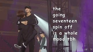 the going seventeen spin off is a whole mood