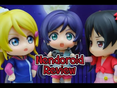 Love Live! Nendoroid Nozomi, Nico And Eli Training Outfit Ver. Unboxing And Review