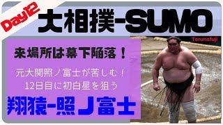 4勝7敗(追手風 Oitekaze)-0勝5敗6休(伊勢ヶ濱 Isegahama) 翔猿(26)[東京...