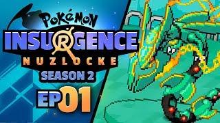 SUMMONING MEGA RAYQUAZA?! - Pokémon Insurgence SEASON 2 (Episode 1)