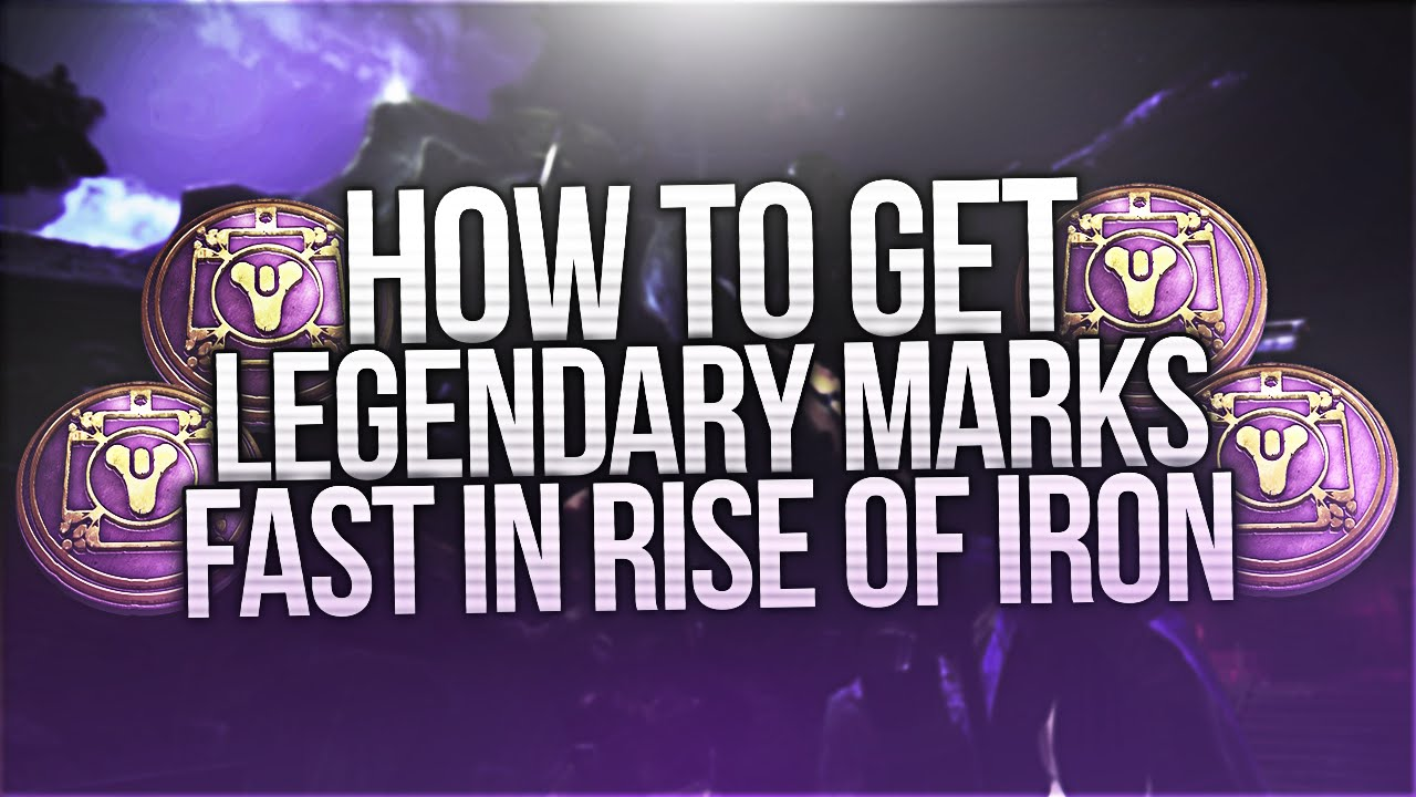 Destiny: How To Get Legendary Marks Fast In Rise Of Iron