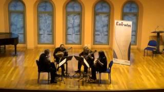 Cuarteto Aguilar- La Copla Intrusa, María Rodrigo
