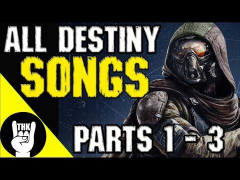 Destiny Rock Rap Songs Parts 1- 3 | TEAMHEADKICK