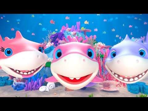 Baby Shark Song + More Kids Nursery Rhymes & Baby Songs By Little Treehouse