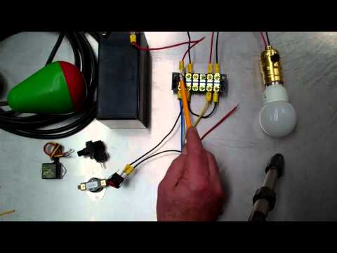 Low Voltage Relay Wiring for Off Grid Solar
