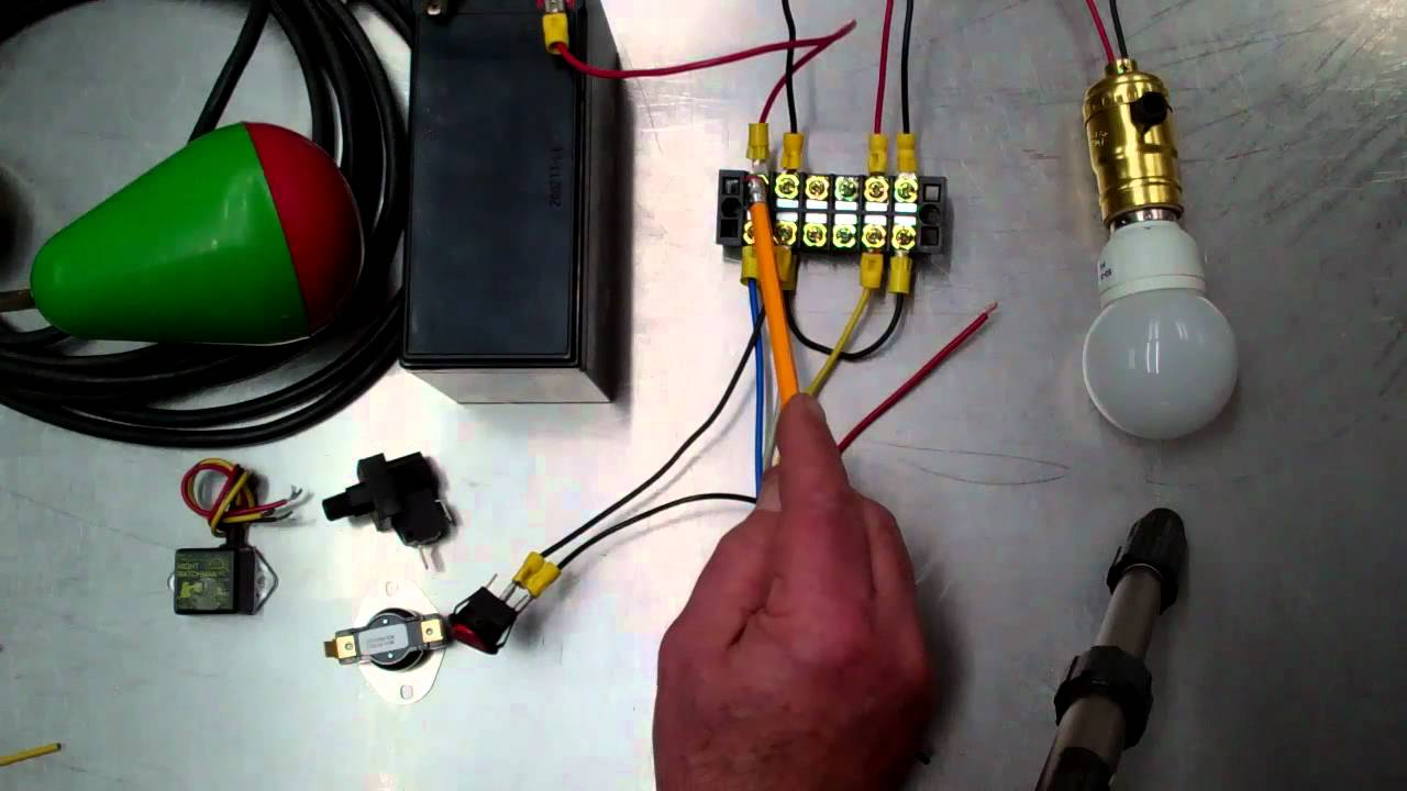 Low Voltage Relay Wiring For Off Grid Solar Youtube Panel