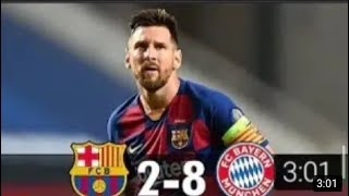 Barcelona vs bayern munich 8-2 all goals and extended highlights