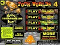 Monkey GO Happy Four Worlds 4 Walkthrough [PencilKids]