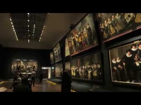 Hermitage Amsterdam.The exhibition contains hundreds of masterpieces of Dutch masters