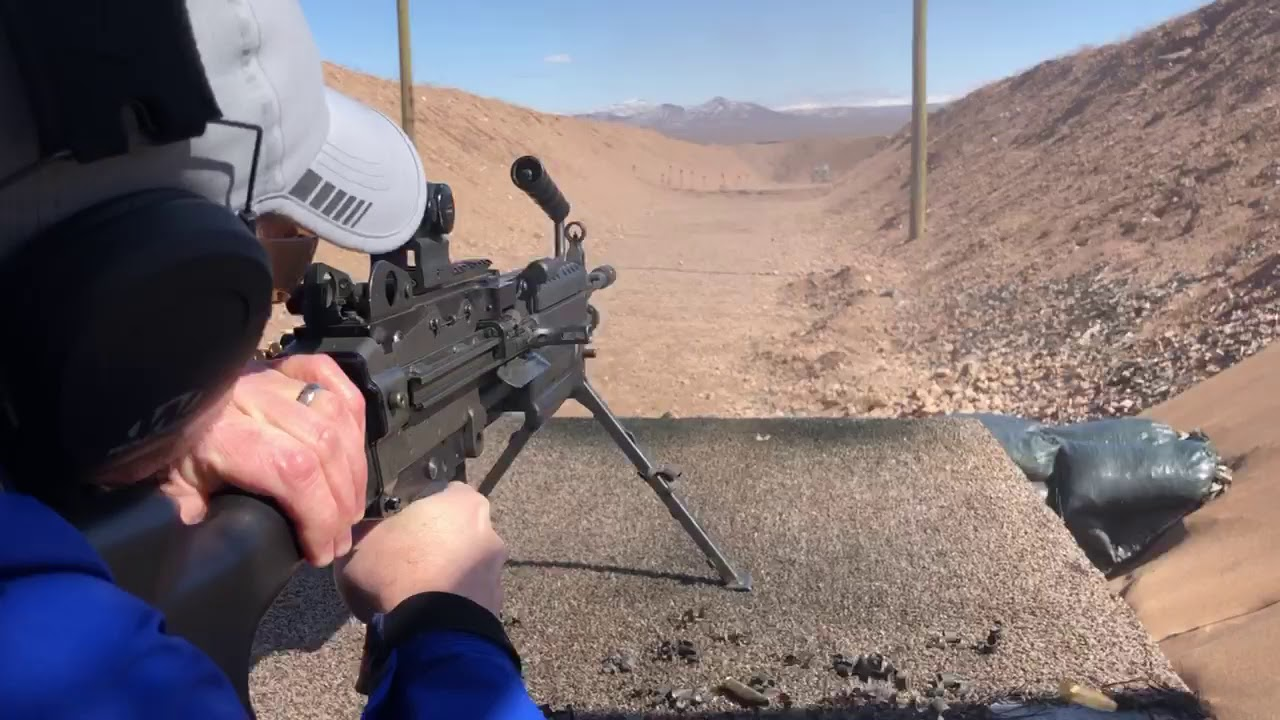 Bullets and Burgers | Las Vegas Shooting Range | Shoot A