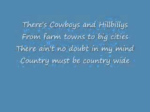 Country must be country wide-karaoke-Brantley Gilbert.wmv