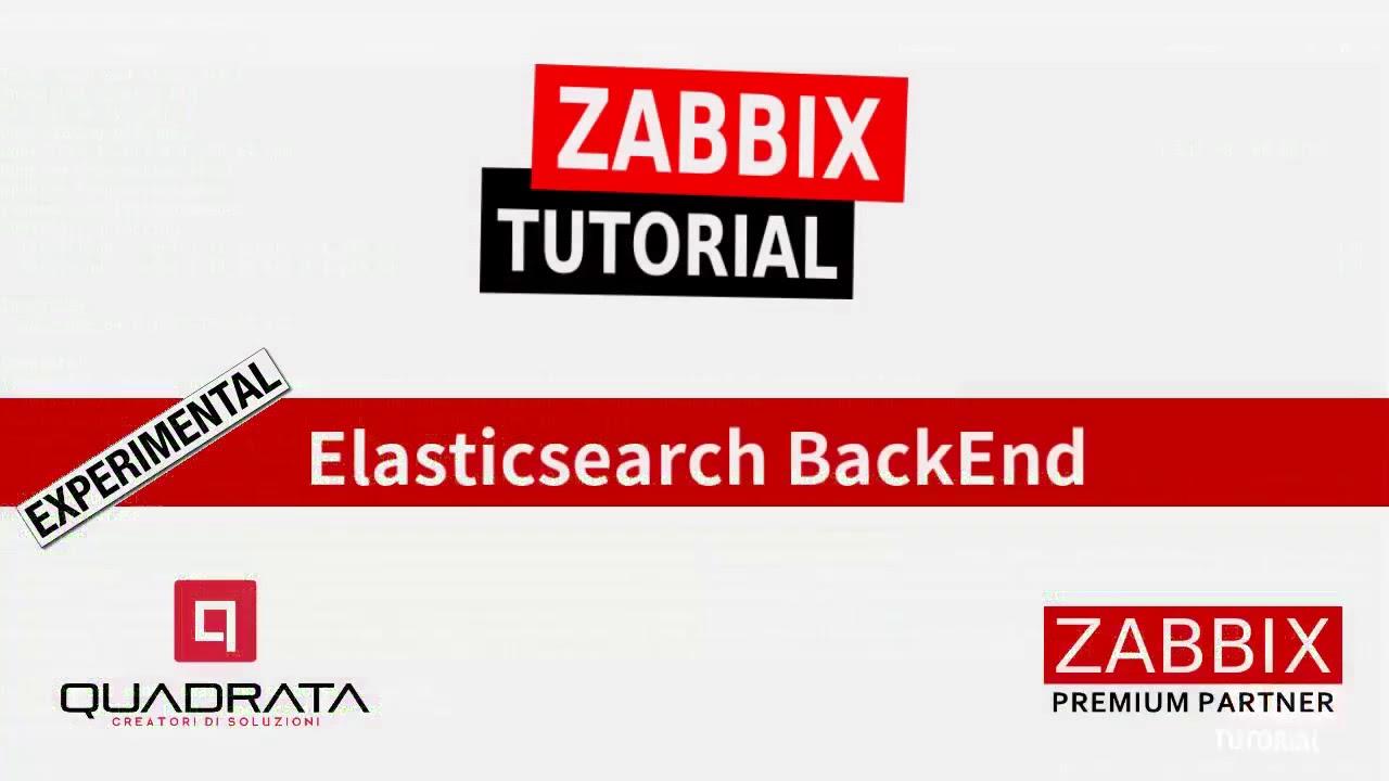 Zabbix Tutorial - Elasticsearch as DB Backend ITA - #05
