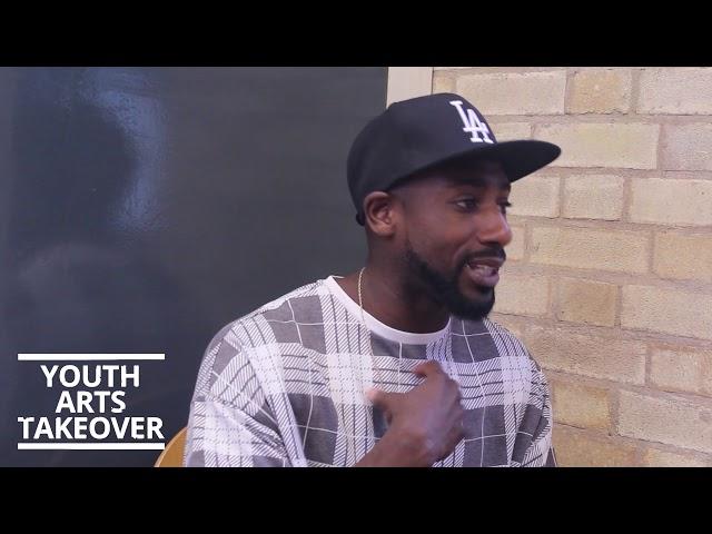 Youth Arts Takeover Spotlight: Nigel Taylor