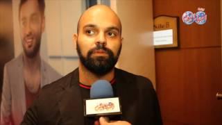 كريم الحميدي في احتفال ألبوم رامي عصام الدولة لا تري الابداع