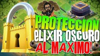 PROTECCION DE ELIXIR OSCURO EN FARMING   TH9 FARMING BASE PROTECTING   Rogersslike Clash of Clans