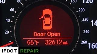 iFixit Tries: Kia Optima Car Repair