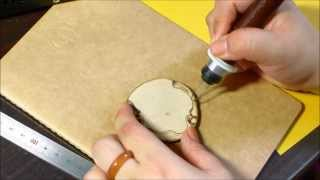 Woodburning Art - Pyrography 13/08/16