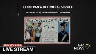 Tazne Van Wyk funeral, Cape Town:  29 February 2020