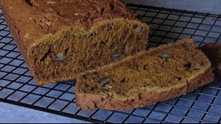 Pumpkin Walnut Spice Bread