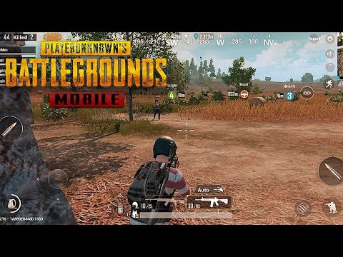PUBG Mobile - iPhone X TRUE HD Gameplay
