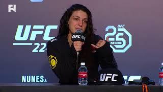 UFC 224: Mackenzie Dern Post-Fight Press Conference -