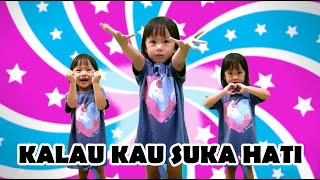 KALAU KAU SUKA HATI ♥ IF YOU HAPPY ♥ Lagu Anak dan Balita Indonesia Populer | NURSERY RHYMES 2020