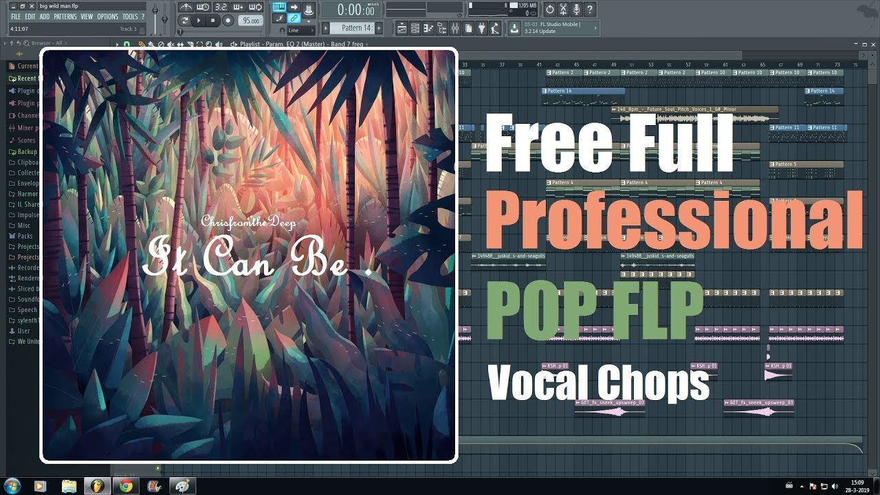 free full flp professional pop template with acapella and vocal chops youtube. Black Bedroom Furniture Sets. Home Design Ideas