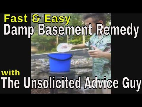 Wet Basement and Odor Eliminator DIY