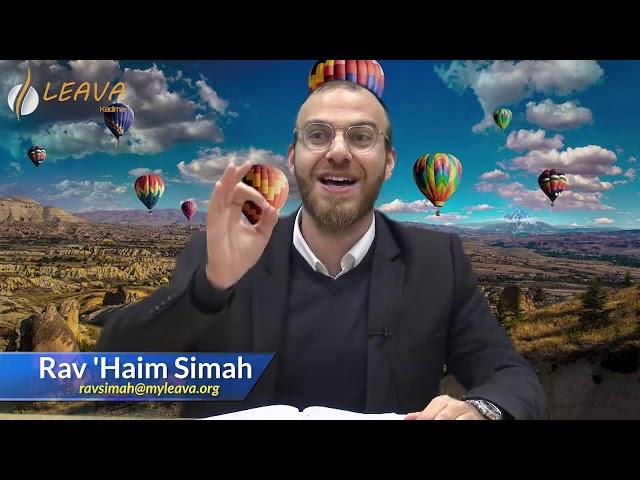🌎  Pour toi le monde avec le Rav Haim Simah - Mon attitude face à une situation (partie 2)
