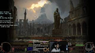Path of Exile 3.0 Beta - Minimum Requirements to Level with Righteous Fire ( Level 18+ )