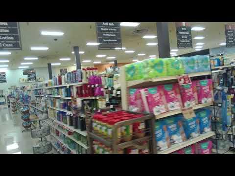 Shopping Inside Giant Eagle