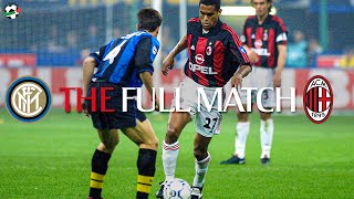 Full Match | Inter 0-6 AC Milan | Serie A 2000/01