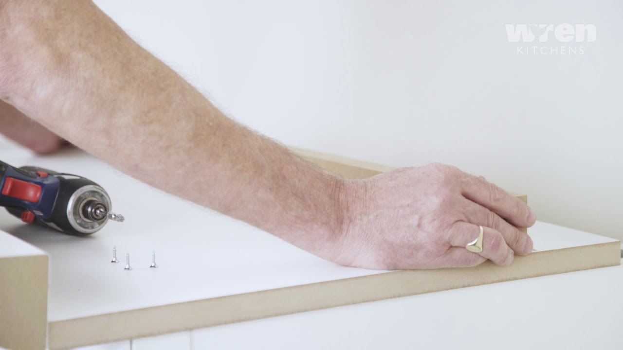 Wren Kitchens Infinity: Corner Post Installation - YouTube
