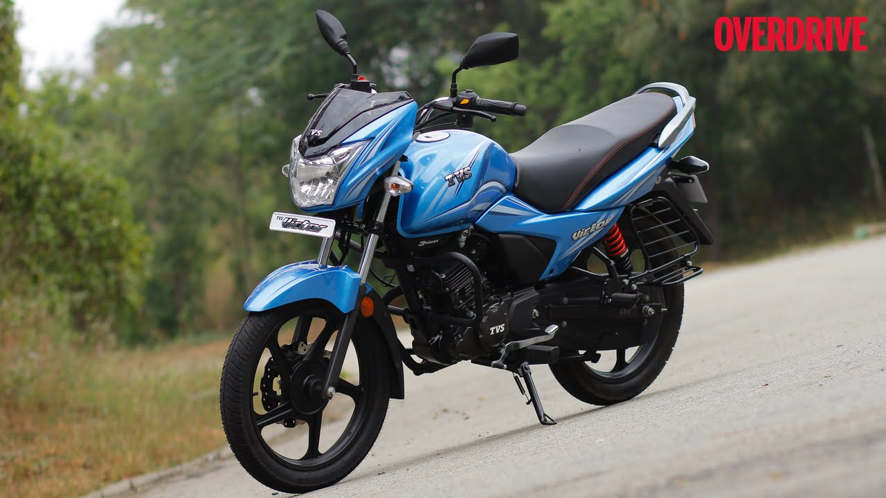 First Look 2016 Tvs Victor 110 Youtube