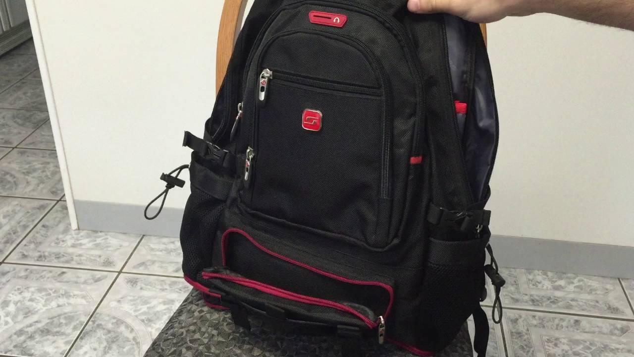 b68d5d4fea Soarpop 15.6 Inch Laptop Expandable Backpack - Waterproof - Frank ...