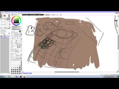 Научиться рисовать чешую дракона